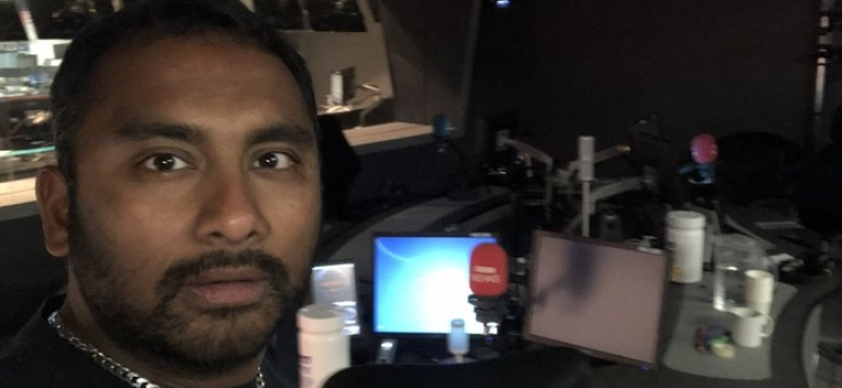 For Imposter Syndrome Sufferers Everywhere: Amol Rajan We Salute You.